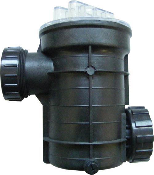 新乡市利菲拓液压机械有限公司生产的毛发过滤器是泳池循环水处理中